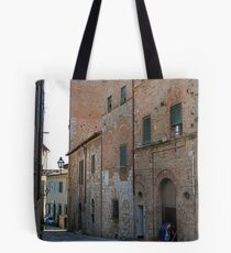 Cleaning the Street Front, Italy Tote Bag