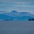 Lake Taupo & Mt Ngauruhoe by Yukondick