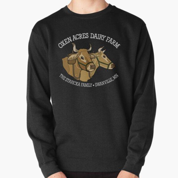 Oxen Acres Dairy Farm (Colored) Pullover Sweatshirt