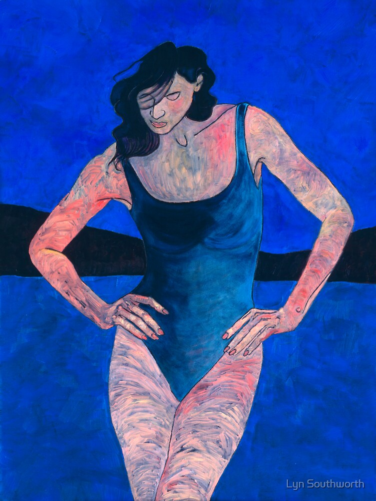 Woman With Water - I by Lyn Southworth