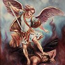 Archangel Michael by Sarah  Mac Illustration