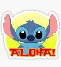 Aloha! Stitch Sticker