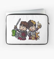 The Reckless and The Brave Laptop Sleeve