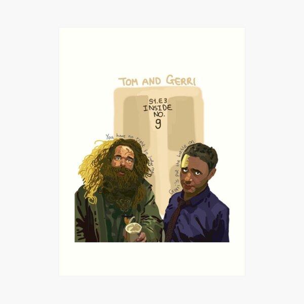 Inside No. 9- Tom and Gerri Art Print