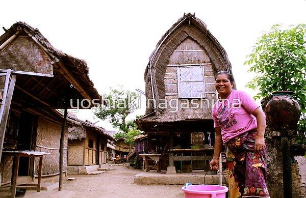 Old  Village of  Ronbok island , Indonesia by yoshiaki nagashima