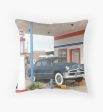 1950 Ford Deluxe 'Tudor'. Throw Pillow