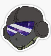 Jager Rainbow Six Siege R6S Galaxy Sticker Sticker