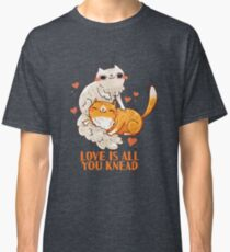 Cute Cats - Love is all you knead  Classic T-Shirt