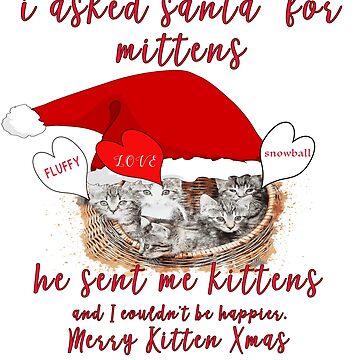 Dear Santa Christmas Kittens by MMadson