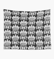 Birthday Girl Shirt - Queens Are Born In 1967 Wall Tapestry