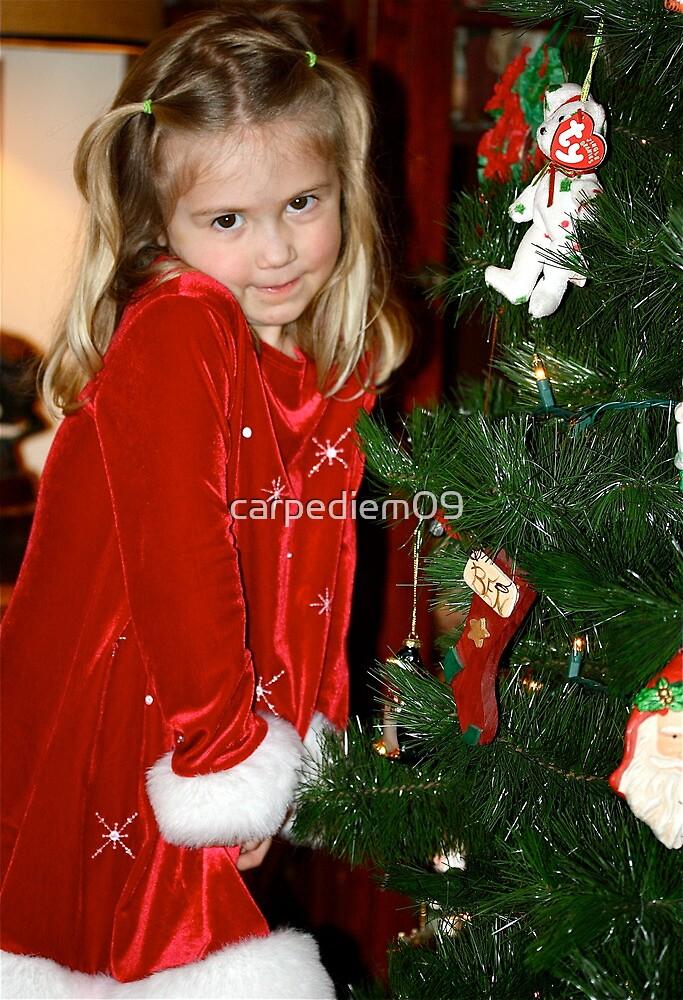 Danica Marie And The Christmas Tree by carpediem09