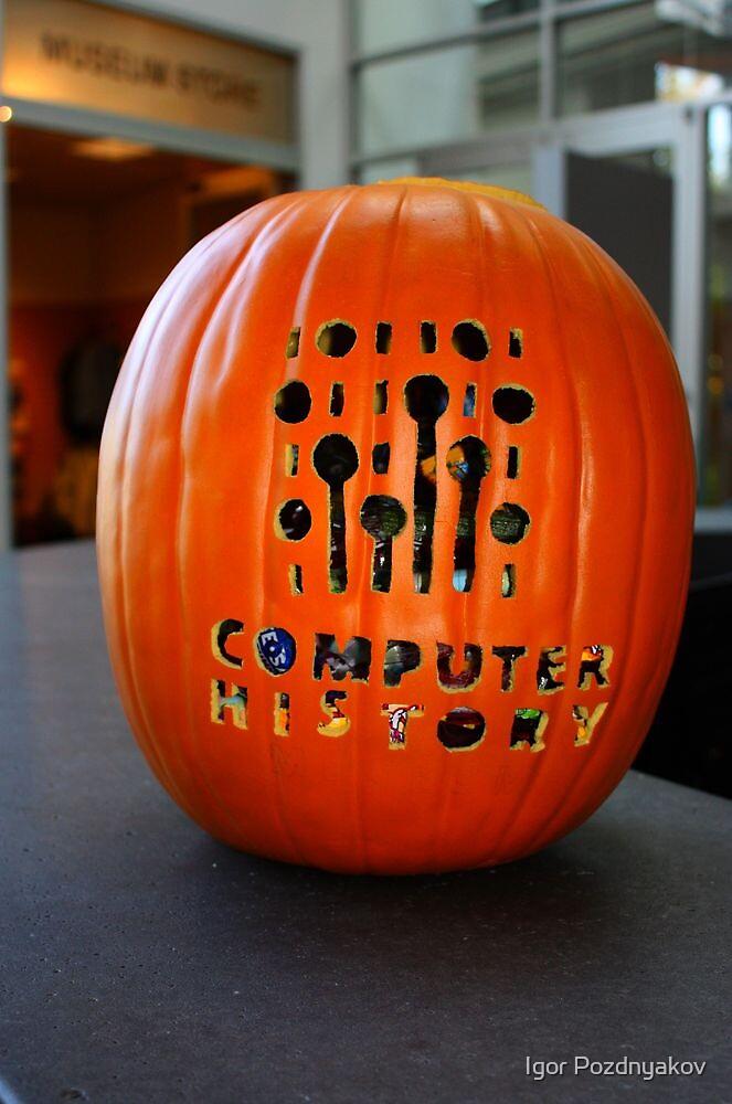 Computer History Museum. October. Mountain View, California 2009 by Igor Pozdnyakov