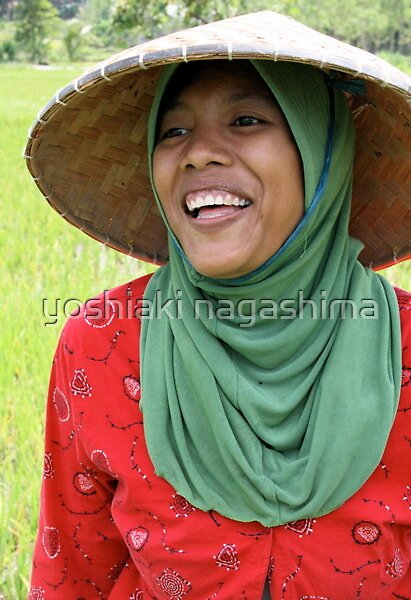 Woman  of  Ronbok island , Indonesia by yoshiaki nagashima