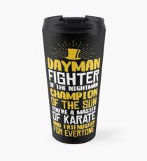 DAYMAN! Champion of the Sun! Travel Mug