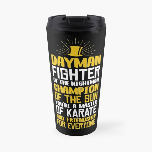 DAYMAN! Champion of the Sun! Travel Mug