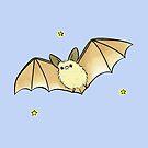 Big Ear Blonde Bat by zoel