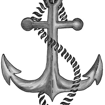Watercolor Anchor by AlexMathews