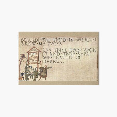 Behold The Field!  Art Board Print
