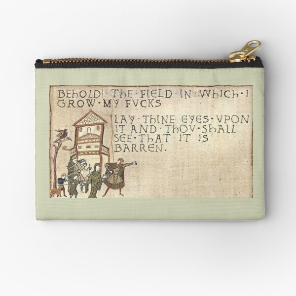 Behold The Field!  Zipper Pouch