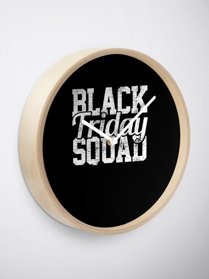 Alternative Ansicht von Black Friday Squad Uhr