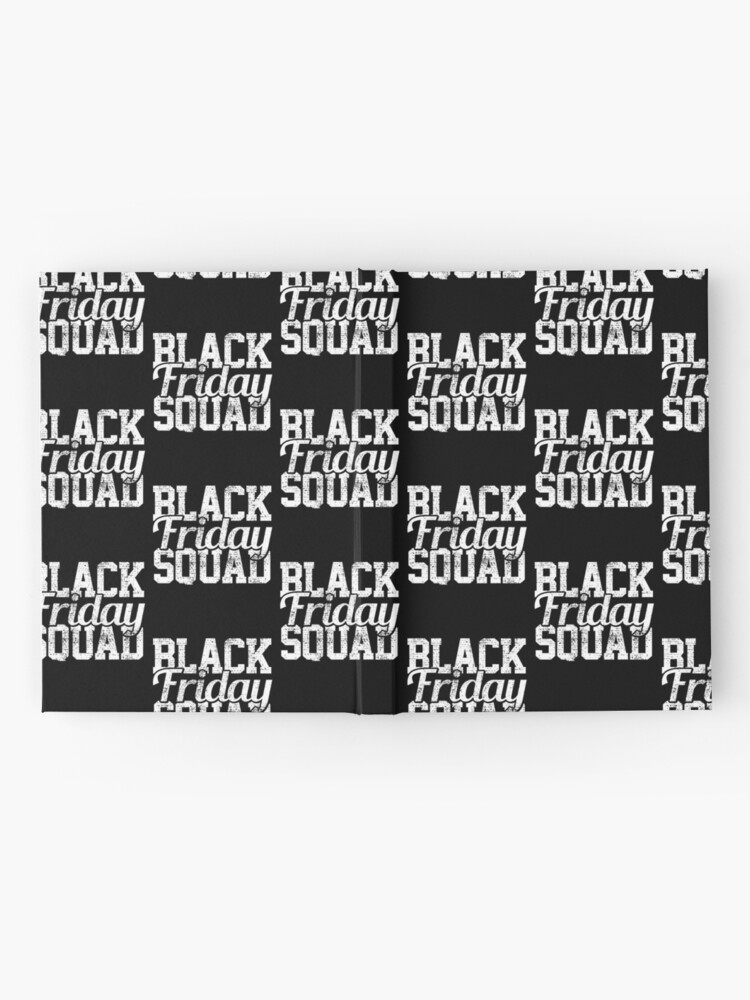 Alternative Ansicht von Black Friday Squad Notizbuch