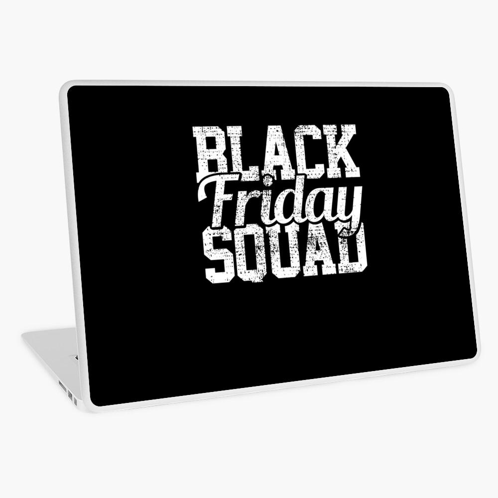 Black Friday Squad Laptop Folie