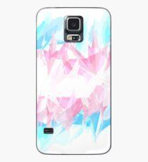 Funda/vinilo para Samsung Galaxy Bandera de transexuales de Grunge