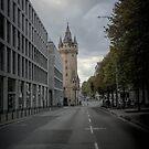 A tower in Frankfurt by Gabi Swanson