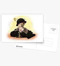 Tiny Deceit Postcards