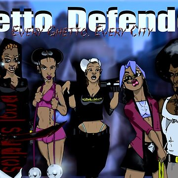 Ghetto Defenders by ProphDookie