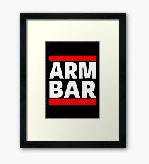 Jiu Jitsu - Arm Bar Framed Print