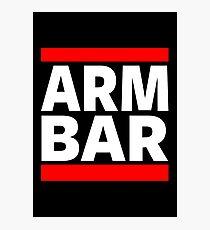 Jiu Jitsu - Arm Bar Photographic Print