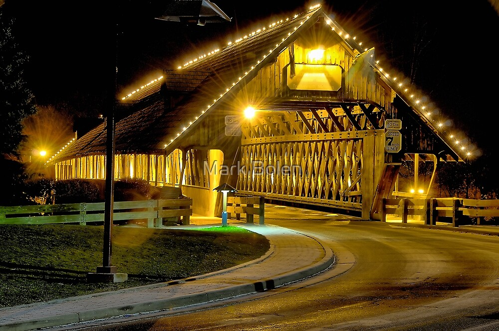 Wooden Lights by Mark Bolen