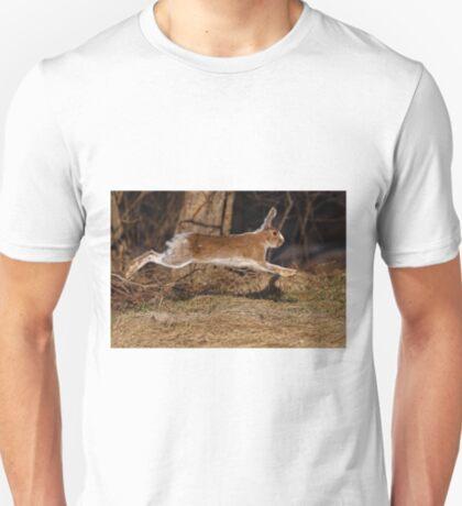 Run Rabbit Run! - Snowshoe Hare T-Shirt