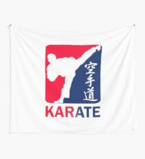 Karate Wall Tapestry