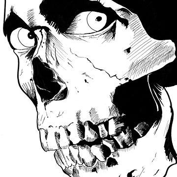 Evil Dead Skull by kreepykustomz