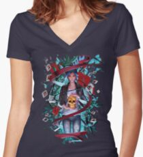Trapped by Destiny Women's Fitted V-Neck T-Shirt