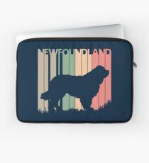 Newfoundland Dog Silhouette Laptop Sleeve