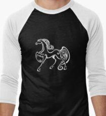 Horse, mane, riding Men's Baseball ¾ T-Shirt