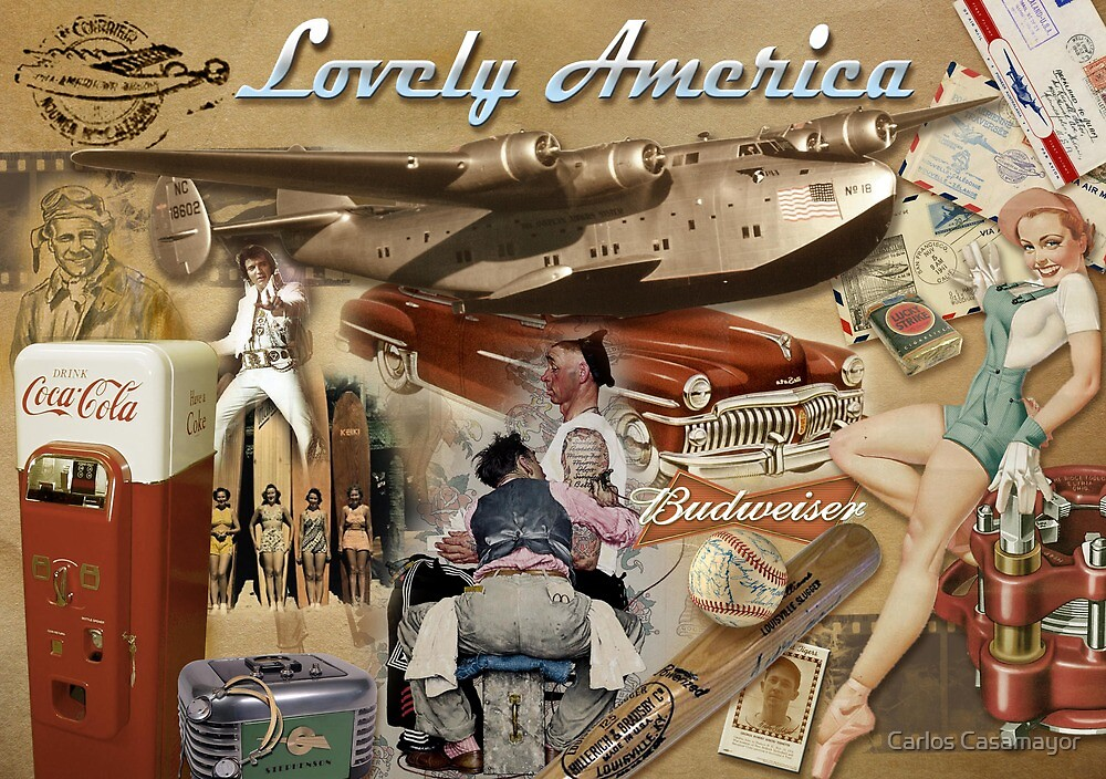 Lovely America by Carlos Casamayor