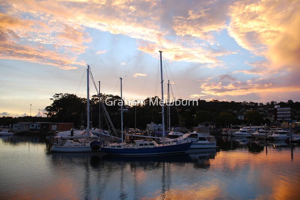 Tweed Marina Sunset by Graham Mewburn