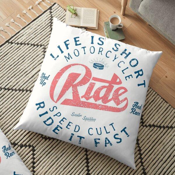 Motorcycle Speed Cult Floor Pillow