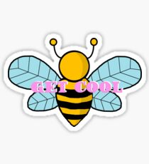 Stray Kids Get Cool Bee Retro Sticker Sticker