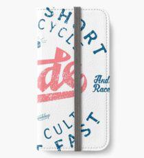 Motorcycle Speed Cult iPhone Flip-Case/Hülle/Klebefolie