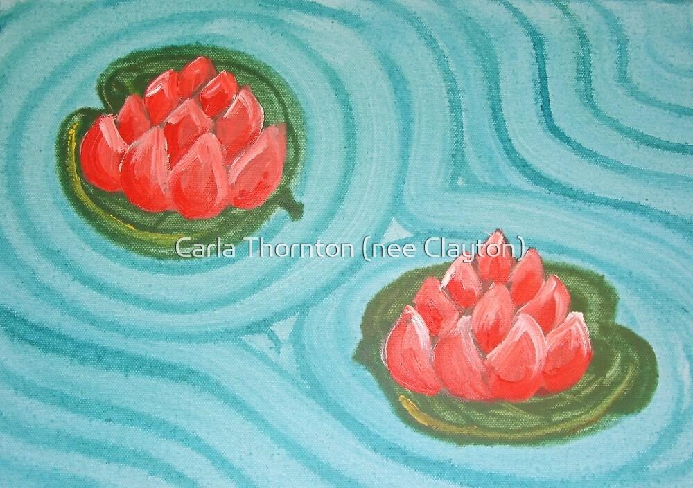 Pair of Lillies by Carla Thornton (nee Clayton)