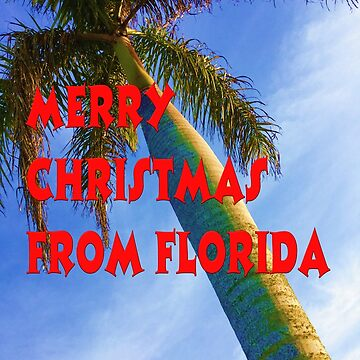 Merry Christmas From Florida by JLHDesign