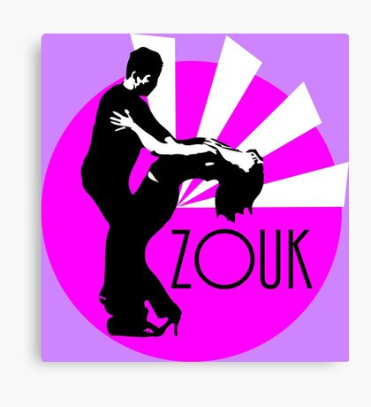 lets dance brasilian zouk Canvas Print