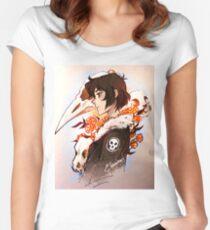 Blumen für die Toten Tailliertes Rundhals-Shirt