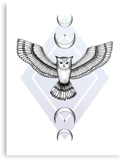 Mystic Owl by barlena