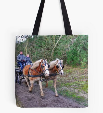 A forest ride Tote Bag